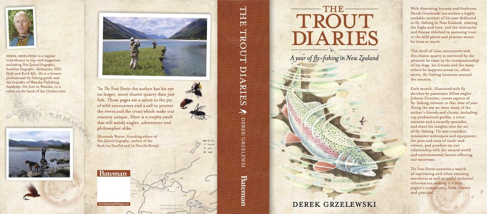 Trout diaries jacket copy