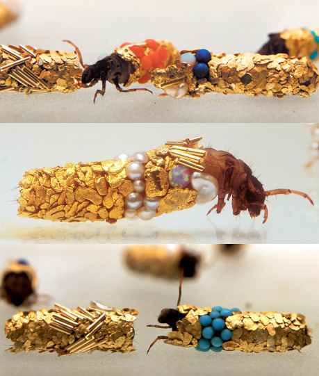 Hubert Duprat, 'Caddis.' (Images: Zero Gallery & Art: via Cabinet Magazine.